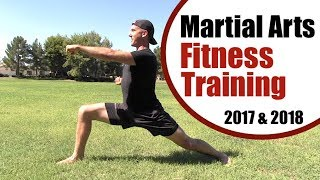 Martial Arts Fitness Routine - 10 Min Fat Burning & Muscle Building Workout! by Kung Fu & Tai Chi Center w/ Jake Mace