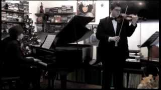 preview picture of video 'Mozart Sonata in Mi min. Giulio Menichelli e Pier Carmine Garzillo'