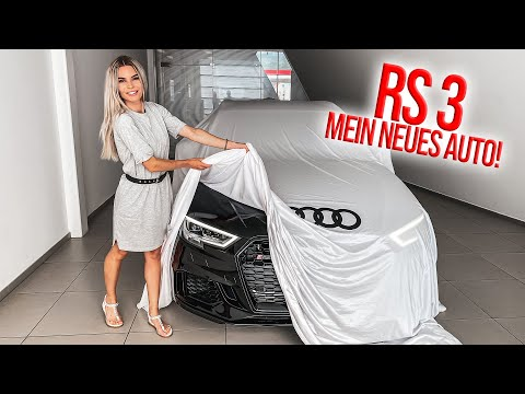 Unser neues Auto! Audi RS3 Sportback Abholung