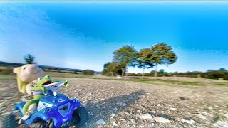 Chasing the Big Buggy Moped - Dji FPV System - Freestyle Germany - Mc Fly FPV
