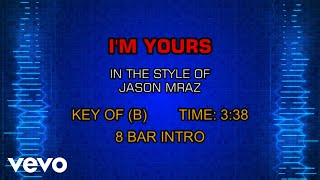 Descargar MP3 de Jason Mraz I M Yours Karaoke Version gratis