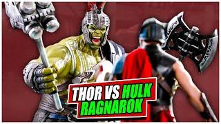 Thor Ragnarok || Thor vs Hulk || Film Scene