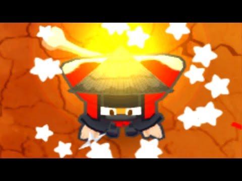 Buffed Grandmaster Ninja Vs. 4 Player Co-op CHIMPS Mode! (Bloons TD 6)