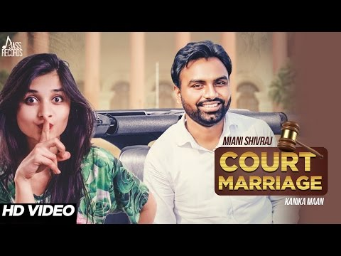 Court Marriage  Miani Shivraj
