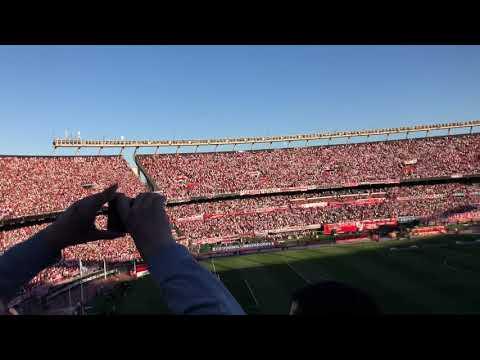 """""""Y como siempre la 12 va a correr sin parar!!!  River boca superfinal 2018"""" Barra: Los Borrachos del Tablón • Club: River Plate • País: Argentina"""
