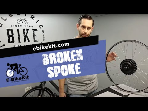 E-BikeKit | What To Do About a Broken Spoke?