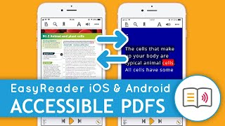 Read RNIB PDFs, with the FREE EasyReader App