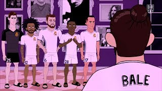 Gareth Bale Sleeps While the Housemates Party   The Champions S2E2
