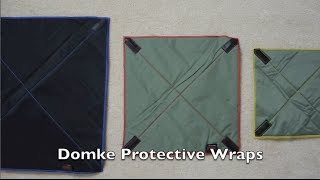 Domke Protective Wraps Review - Will they really protect my photo gear?