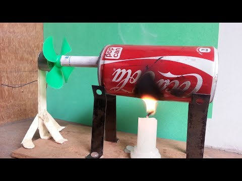 Free Energy Steam Power Generator a cool science project with easy way