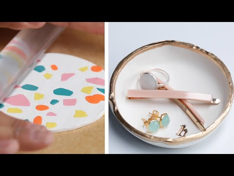 3 Mesmerizing Pressed Clay Projects