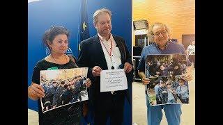 Булат Атабаев и Елена Семенова рассказали евродепутатам о нарушении прав человека в Казахстане