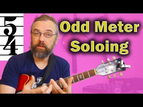 Odd Time Signatures Guitar Lesson - Beginning 5/4 on a Jazz Blues in F