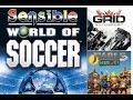 3 Jogos Na Retro Grid Autosport cl ssico Fable Heroes E