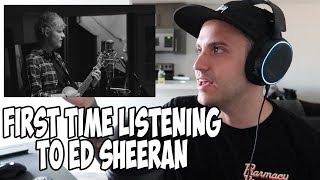 First Time Hearing Ed Sheeran   Beautiful People Abbey Rd REACTION