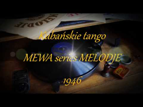 KUBAŃSKIE TANGO- TADEUSZ MILLER 1946!