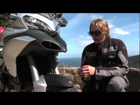 2013 Ducati Multistrada 1200 S Touring Full Review with Tor Sagen