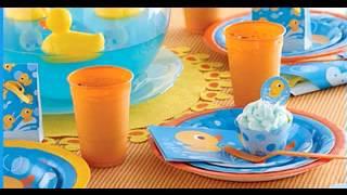Rubber Ducky Themed Baby Shower Decor Ideas