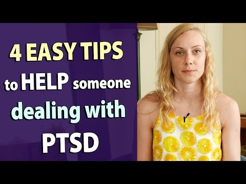 Video 4 TIPS on HOW TO HELP someone with PTSD military treatment support trauma community