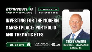 Investing for the Modern Marketplace: Portfolio and Thematic ETFs
