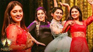 Triple Mass: Vani Bhojan, Nakshatra & Kiki's Marana Kizhi Dance On Stage! Crowd Roars! - GNA 2019