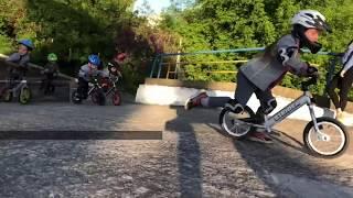 Тренировка на BMX-треке