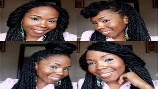Gambar cover 4 Easy Elegant Styles for Long Braids & 2-Strand Twists
