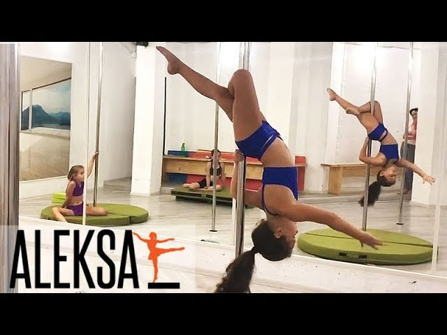 Pole Dance Sport - Pole Kids. Дети  - тренировки Пол Денс (Дэнс), танец на пилоне, в ALEKSA Studio