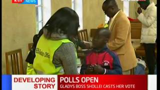 Polling Stations across the country officially open