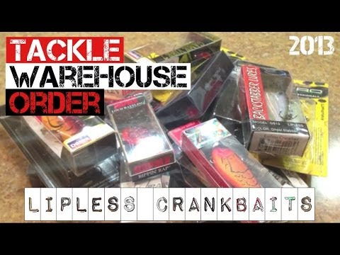 Tackle Warehouse Order- Lipless Crankbaits