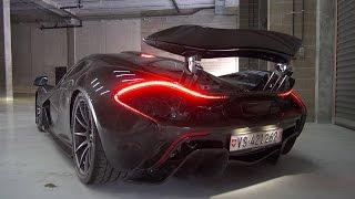 McLaren P1 - Roaring Twin Turbo V8 sounds!