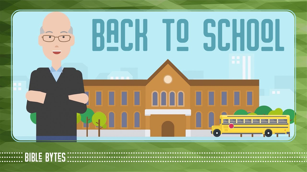 1. Back to School