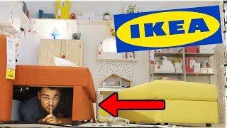 Hide And Seek Inside IKEA! (Best Hiding Spot EVER!)