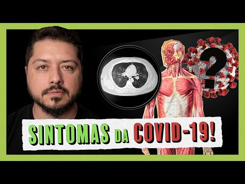 Conheça os sintomas da Covid-19