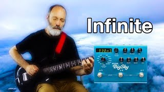 Strymon Big Sky Infinite Hold | Ambient Guitar Soundscape - Video Youtube