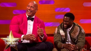 Kevin Hart Wants To Be An Action Star Like Dwayne 'The Rock' Johnson   The Graham Norton Show