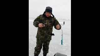 Рыбалка на азовском море зимой