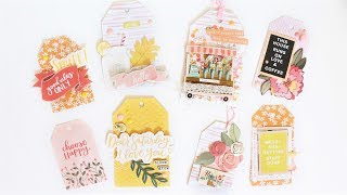 DIY Embellished Tags With Rachel Tallman And The Wild Hare Kits