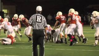 Week 9-Dobie Longhorns vs. Alvin Yellowjackets-2014 Football