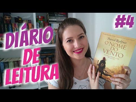 DIÁRIO DE LEITURA #4 | LENDO O NOME DO VENTO | Patricia Lima