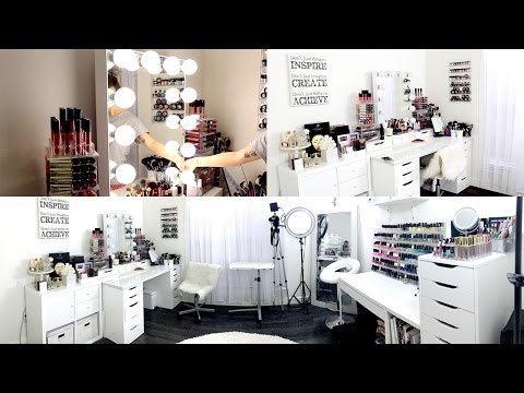 Makeup Room & Filming Set Up || EXCITING NEWS!!
