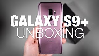 Samsung Galaxy S9+ Unboxing and Tour!
