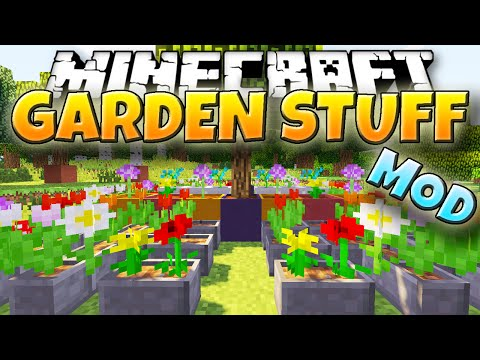 Minecraft Mod: GARDEN STUFF! | New Garden Tools and Blocks! [1.7.10]