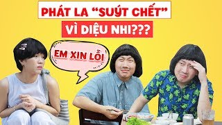 """Gia đình là số 1 phần 2 ep cut 75: Vì thói ham ăn bất chấp, Diệu Nhi khiến Phát La suýt """"mất mạng""""?"""