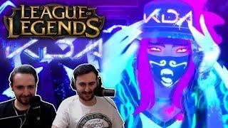 """K/DA - POP/STARS (ft Madison Beer, (G)I-DLE, Jaira Burns) | League of Legends"" REACTION"