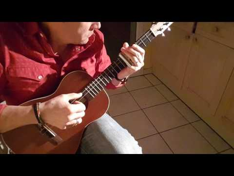 Houston In Two Seconds. Slide Ukulele
