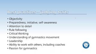 Intro to WAG Judging (Women's Artistic Gymnastics)