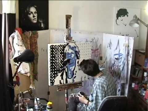 JON BON JOVI - Speed Art Painting #3 - FAITH LIVE! - Stephen Quick
