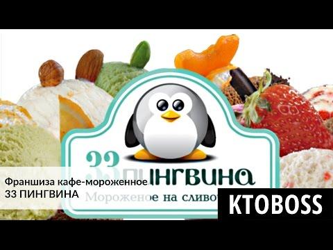 Франшиза кафе-мороженное 33 ПИНГВИНА