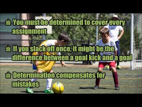 The Makings of a Good Defender in Soccer